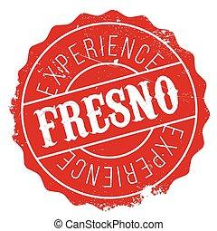 Fresno stamp rubber grunge - Fresno stamp. Grunge design...