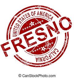 Fresno with white background