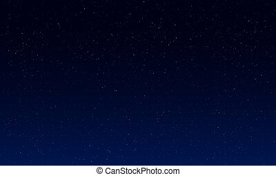 fri, natt, sky.vector.illustration