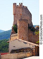 Frias castle (12th-15th century). Burgos, Spain - Frias ...