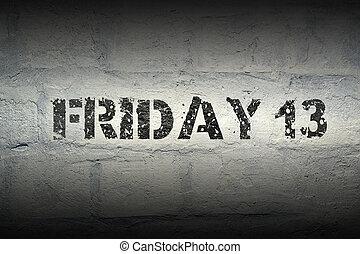 Friday 13 GR