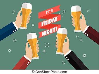 Friday Night Party celebration