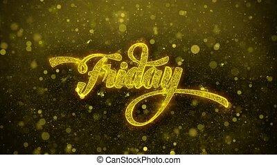 Friday Wishes Greetings card, Invitation, Celebration...