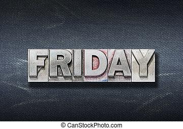 Friday word den