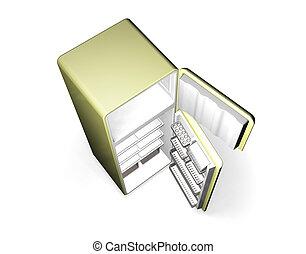Fridge - 3D render of a fridge