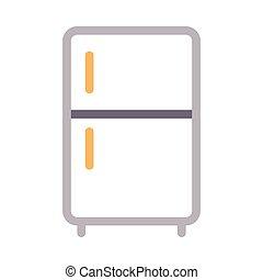 fridge  color line icon
