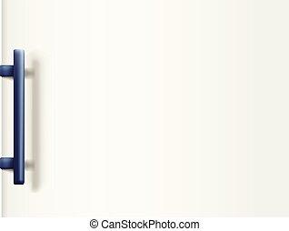 fridge door white
