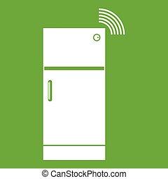 Fridge icon green