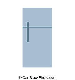 fridge icon, on white background