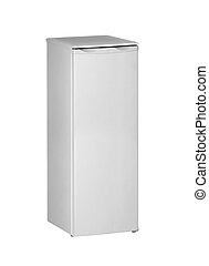 fridge isolated on white