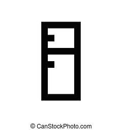 fridge  pixel perfect icon