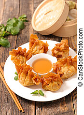 fried asian food