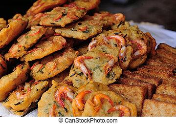 fried asian food