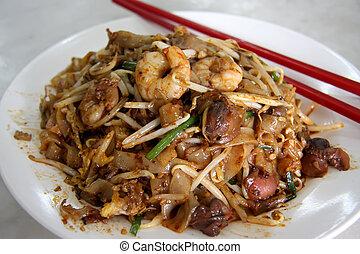 Fried asian noodles