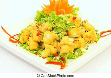 Fried breaded Shrimp