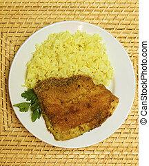 fried breaded tilapia