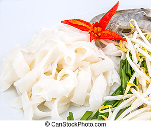 Fried Char Kway Teow Ingredients - Fried char kway teow...