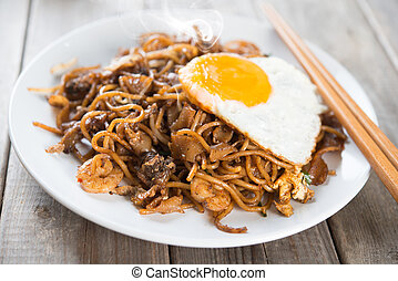 Fried Char Kway Teow - Fried Char Kuey Teow which is a...