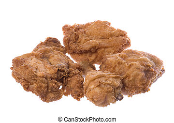 Fried Chicken Isolated