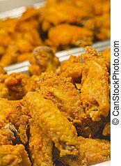 Fried Chicken Legs Wings