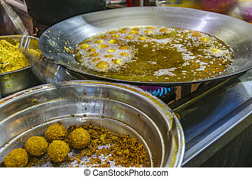 Fried Croquettes, Street Market, Jerusalem