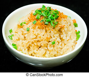 Fried garlic rice