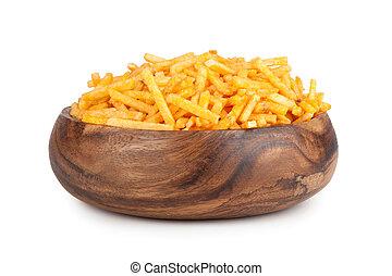 Fried Potato in a bowl
