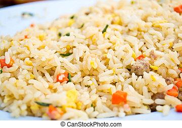 Fried rice dish