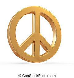 Frieden Zeichen