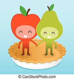 friedly, piee, päron äpple