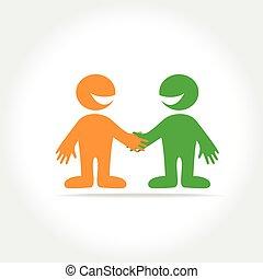 friend template logo