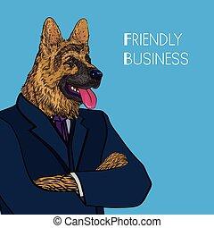 friendly business concept