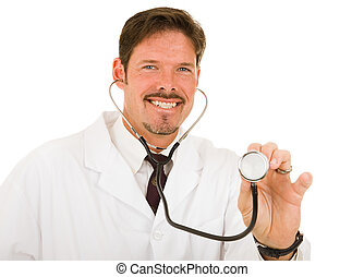 Friendly Caring Doctor
