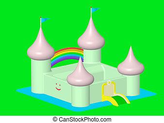 Friendly castle
