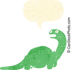friendly dinosaur cartoon character