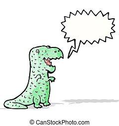 friendly dinosaur cartoon
