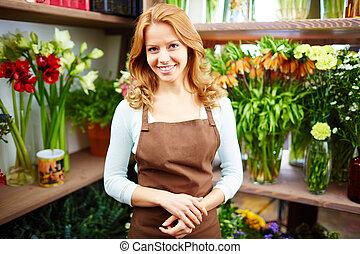 Friendly florist