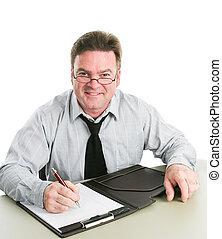 Friendly Job Interviewer