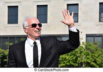Friendly Male Politician Congressman