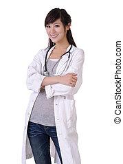 Friendly medical doctor