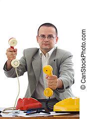 Friendly phone marketer - Friendly marketing or salesmen...