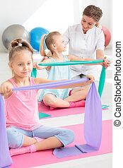 Friendly rehabilitation facility for children