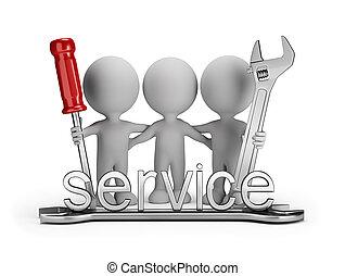 Friendly repair team