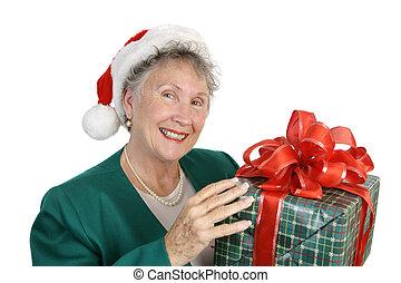 Friendly Senior & Gift