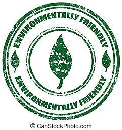 friendly-stamp, 環境的に