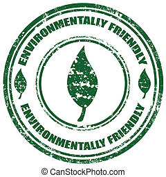 friendly-stamp, environmentally