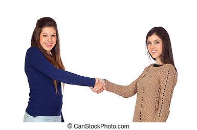 friends, abkommen, zwischen