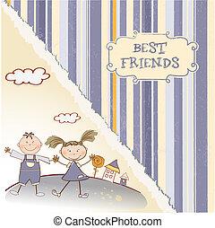 friends, am besten