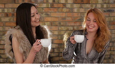 Friends and tea