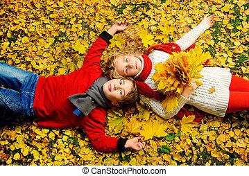 friends autumn